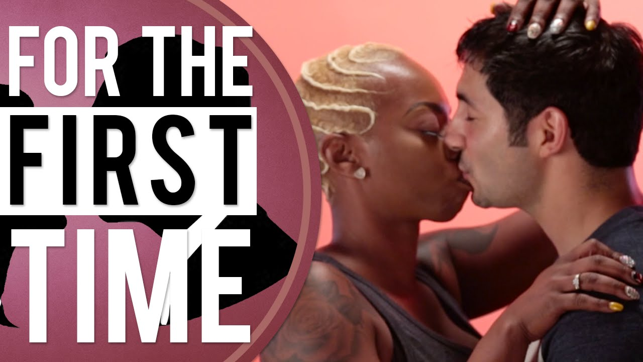 Black Girls Kiss White Guys For The First Time  Street -2432