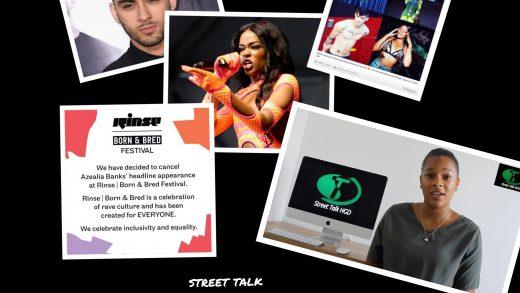 Azealia Banks Disses Zayn Malik, UK Rap/Grime & Gets Suspended from Twitter & dropped From Festival – Street Talk by LK