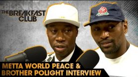 Insightful! Metta World Peace and Brother Polight Interview With The Breakfast Club
