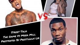 """One minute the Game's Talking Black Lives Matter Next He wants to fight Meek"" The Game Vs MeeK #CWLK"