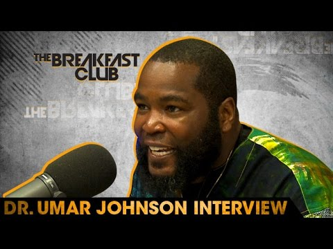 Powerful & Relevant Interview! Umar Johnson Interview With The Breakfast Club