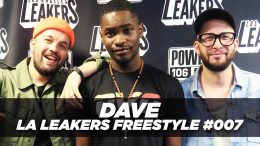 Dave Freestyle With The LA Leakers | #Freestyle007